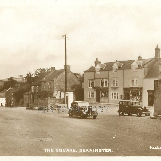 The Square, Beaminster, c. 1939