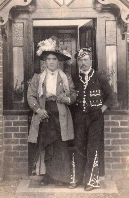 Arry & Arriet, Wimborne Minster, 22 June 1915