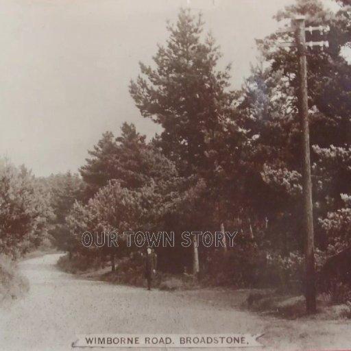 Wimborne Road, Broadstone, c. 1917
