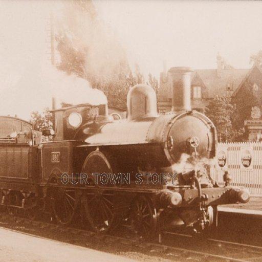 Harrow & Wealdstone Railway Pictures, c. 1900