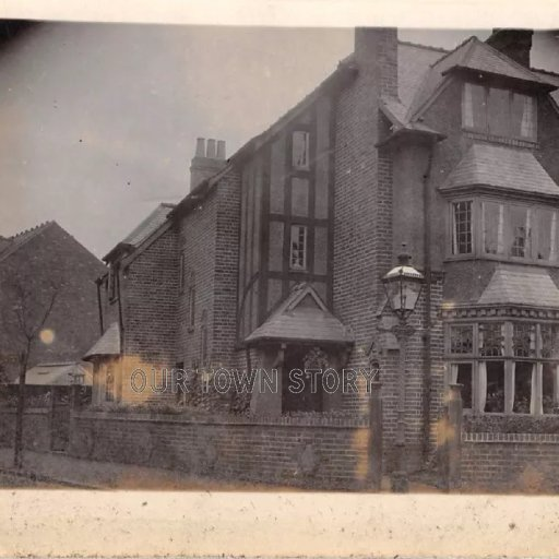 Mystery House, possibly in Acton or Aston/Birmingham, c. 1918-21