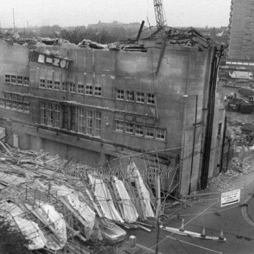 Demolition of Gala Bingo, Chatham