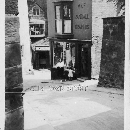 M & F Randall, Drapers, Unknown Location