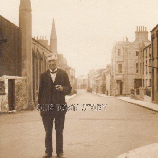 Unknown Street in an Unknown Town, c. 1910