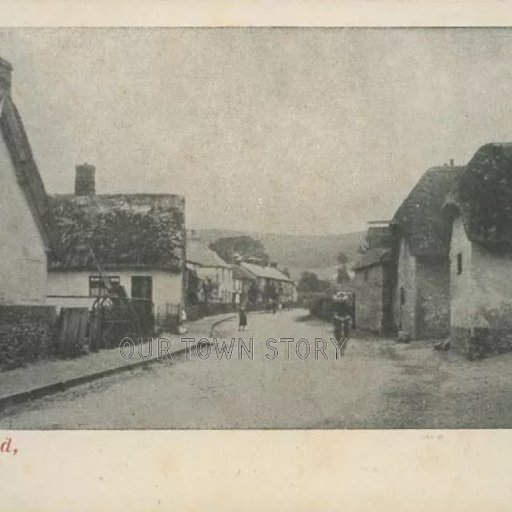 Station Road, Chinnor, c. 1920s