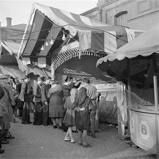 Easter Fair, Norwich, March 1948
