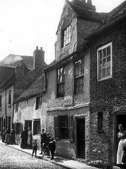 Trinity Lane, York, 1902