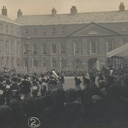 Ceremonial Marching Band, Unknown Date and Location