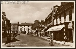 Wimborne Square in the 1920s