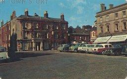 The Square, Wimborne Minster, c. 1968
