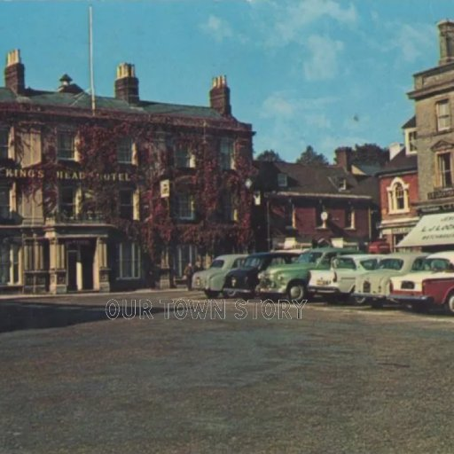 The Square, Wimborne Minster, c. 1968