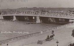 Rochester Bridge, Kent, c. 1917