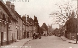 West Borough, Wimborne Minster, c. 1900s
