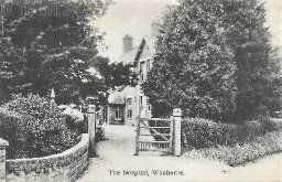The Hospital, Wimborne, c. 1907