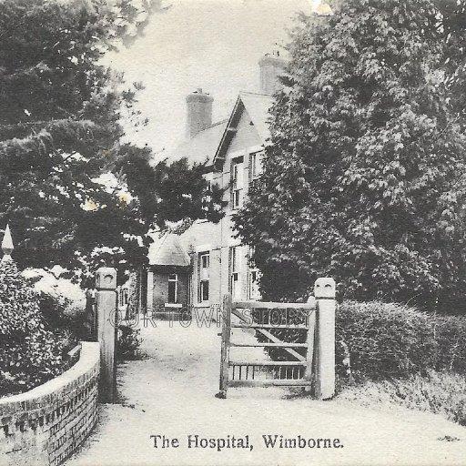 The Hospital, Wimborne, c. 1907