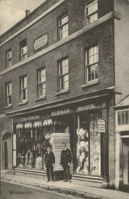 Newman's Shop, High Street, Wimborne Minster, c. 1900s