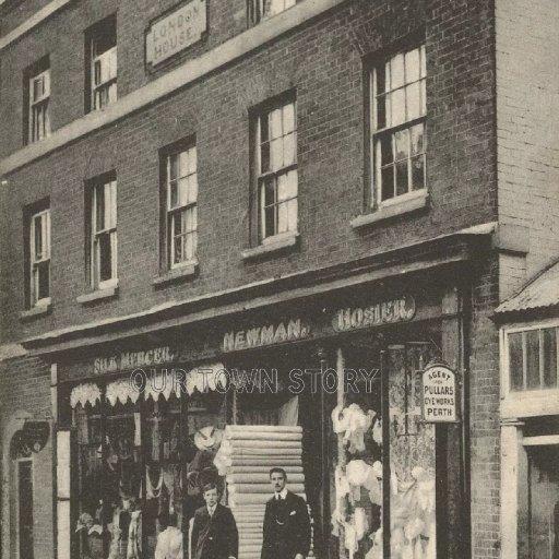 Newman's Shop, High Street, Wimborne Minster, c. 1900s
