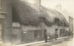 Old East Street, Wimborne Minster, c. 1890s