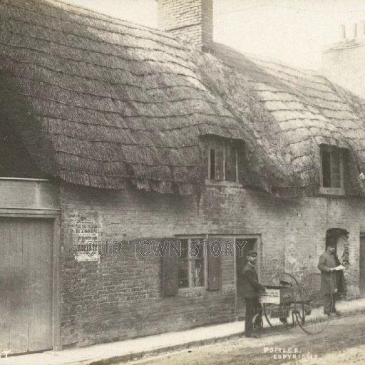 Old East Street, Wimborne Minster, c. 1890s