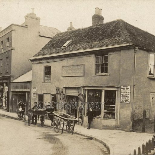 High Street, Wimborne Minster, c. 1905