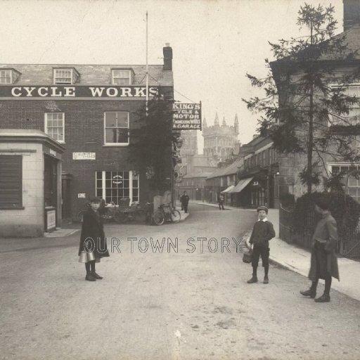 East Street, Wimborne Minster, c. 1910