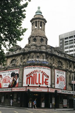 Thoroughly Modern Millie at the Shaftesbury Theatre