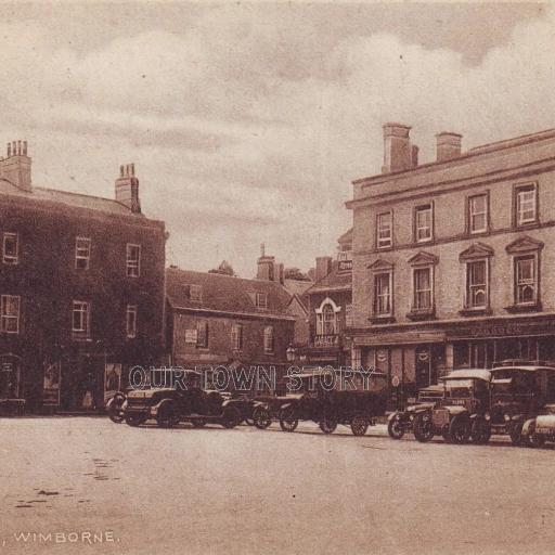 The Square, Wimborne, c. 1920s