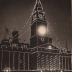 Coronation Illuminations, Bolton Town Hall, Lancashire 1911