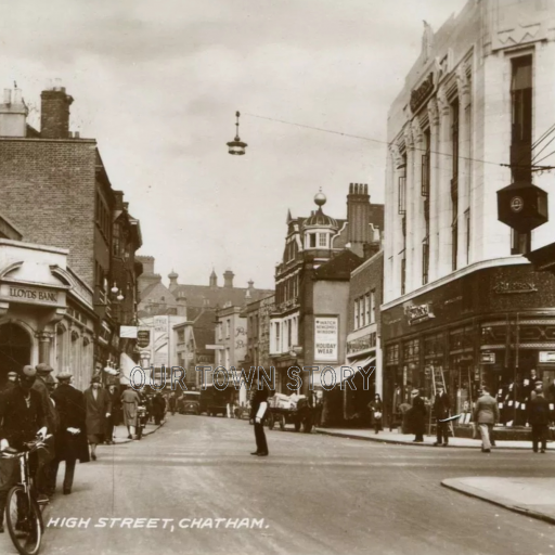 Chatham High Street/Military Road, Chatham, c. 1930s