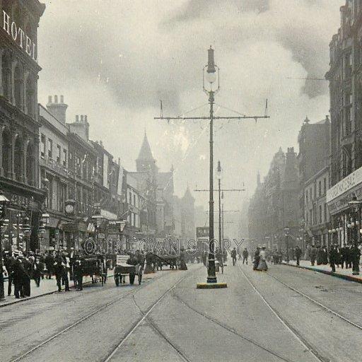 Briggate, Leeds, c. 1900s
