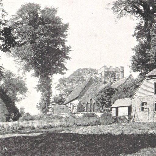 Shiplake Church & Farm, c. 1897