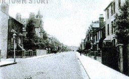 Park Road, Sittingbourne, 1901