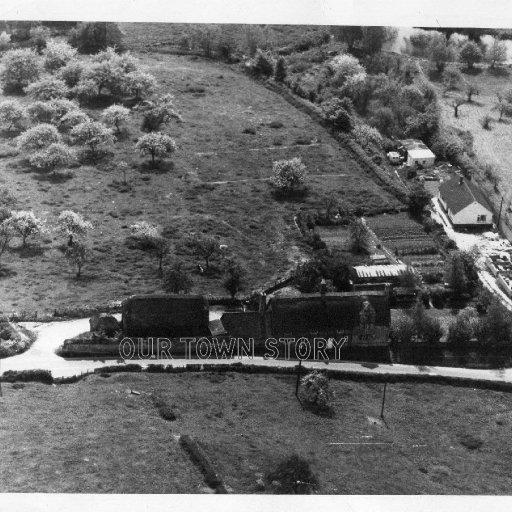 Aerial photograph taken by the RAF, Ugford,1964