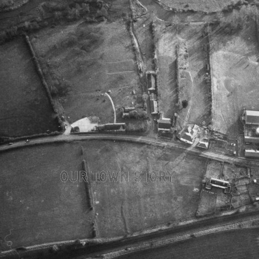 Ugford from the air - 1978