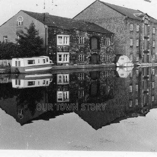 Warehouse on Bridgewater Canal (now Waterside Inn), Leigh, c. 1970s