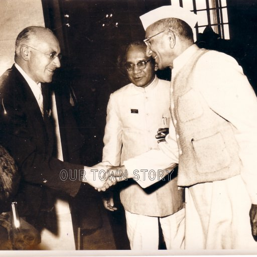 1957 Commonwealth  visit to India