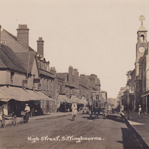 High Street, Sittingbourne, c. 1900s