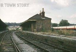 Wimborne Station, 1974