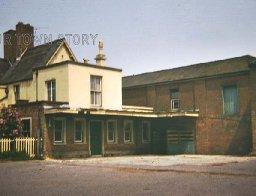 Wimborne Station Ticket Hall, 1974