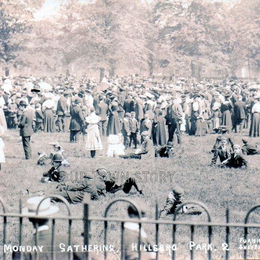 Whit Monday 1905 Sheffield