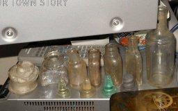 Small Bottles, Voctorian Bottle dump,
