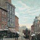 Castle Street, Sheffield, 1904 Postcard