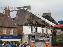 Wimborne Minster Fire, 2009