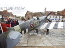 Spitfire in Wimborne, 2014
