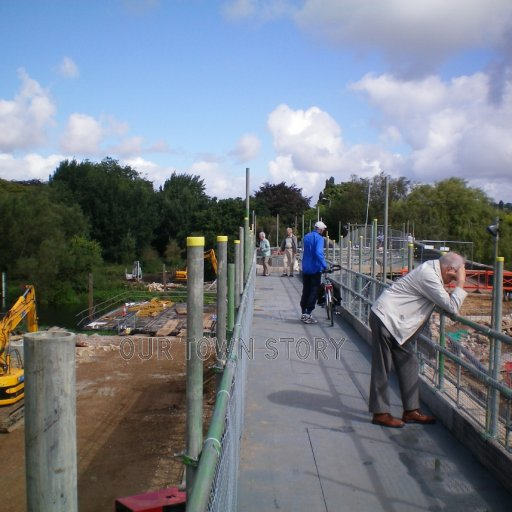 Wimborne Minster, Canford Bridge