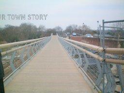The new bridge, Wimborne Minster, 2008