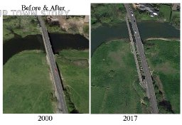 Before & After Canford Bridge