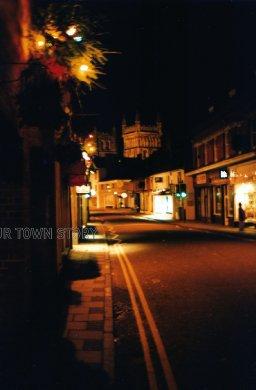 East Street at Night, Wimborne Minster, 1999