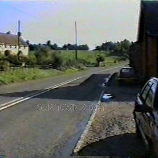 The old White Cottages, Ugford 1989