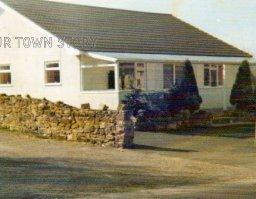 The old transport cafe, Nadder Views, Ugford, 1980
